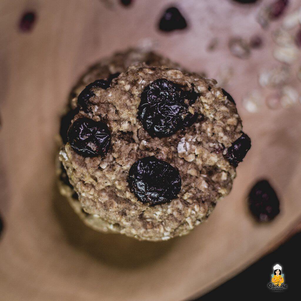 Fitness Cookies mit Haferflocke und Banane: Ohne Zucker und Fett