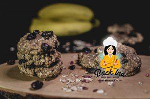 Gesunde Frühstückscookies ohne Zucker und Fett