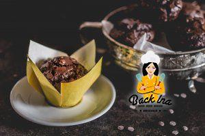 Die schokoladigsten Schokomuffins der Welt - wie im Coffeeshop