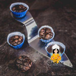 Protein Schoko Muffins mit Bohnen