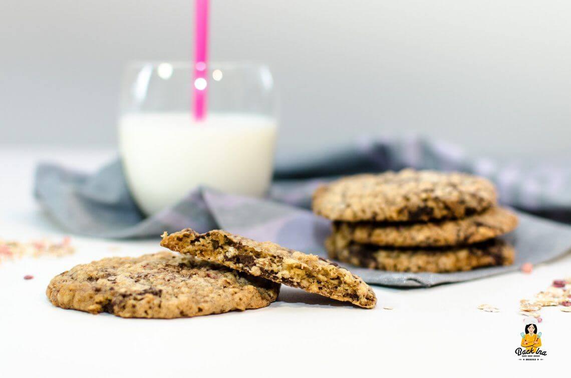 Gewissensentscheidung | Saftige Haferflocken Cookies mit Schokolade