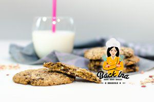 Saftige Haferflocken Cookies amerikanischer Art