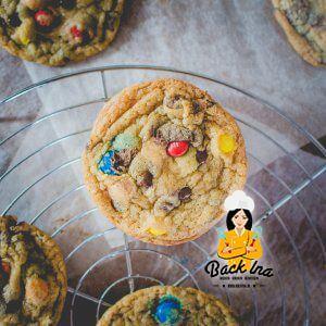 Rainbow Cookies / Cookies mit M&Ms