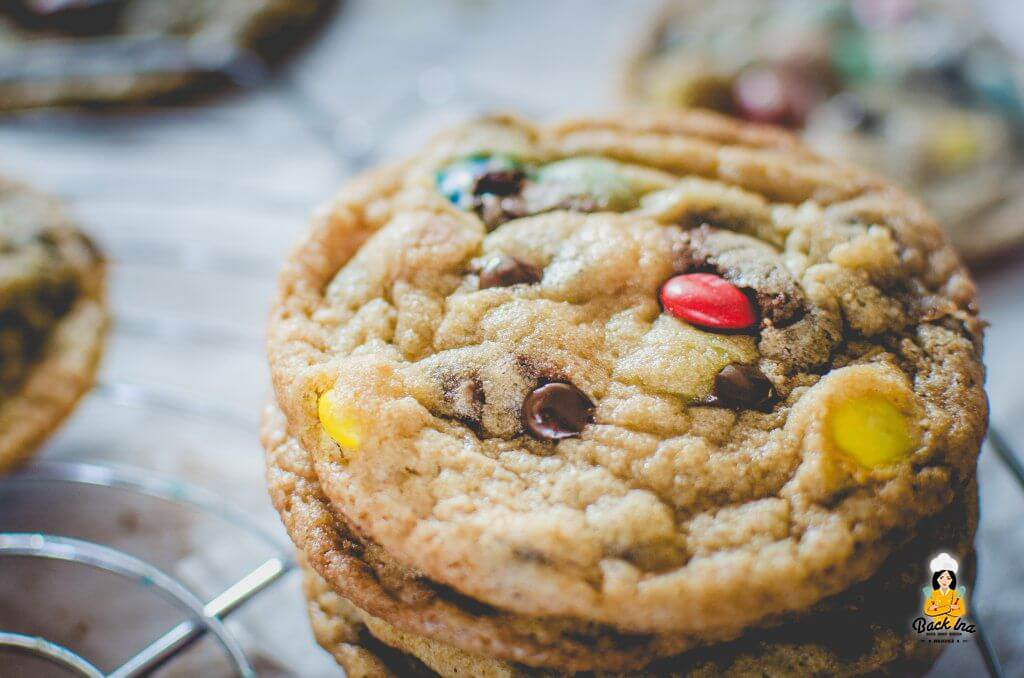 Cookies wie bei Subway: M&M Cookies