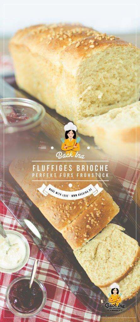 Du suchst ein Brioche Rezept? Dieses einfache Rezept für das französische Hefegebäck eignet sich gut als Osterbrot oder leckeres Hefegebäck zum Frühstück! Erfahre hier, wie du Brioche selber machen kannst! | BackIna.de
