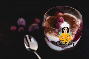 Himbeer Tiramisu ohne Ei - Dessert im Glas
