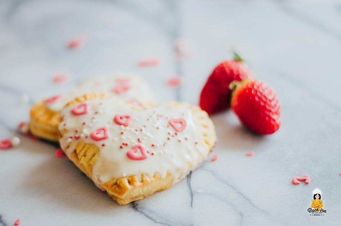 Etwas Süßes zum Muttertag (Selbstgemachte Pop Tarts in Herzform)