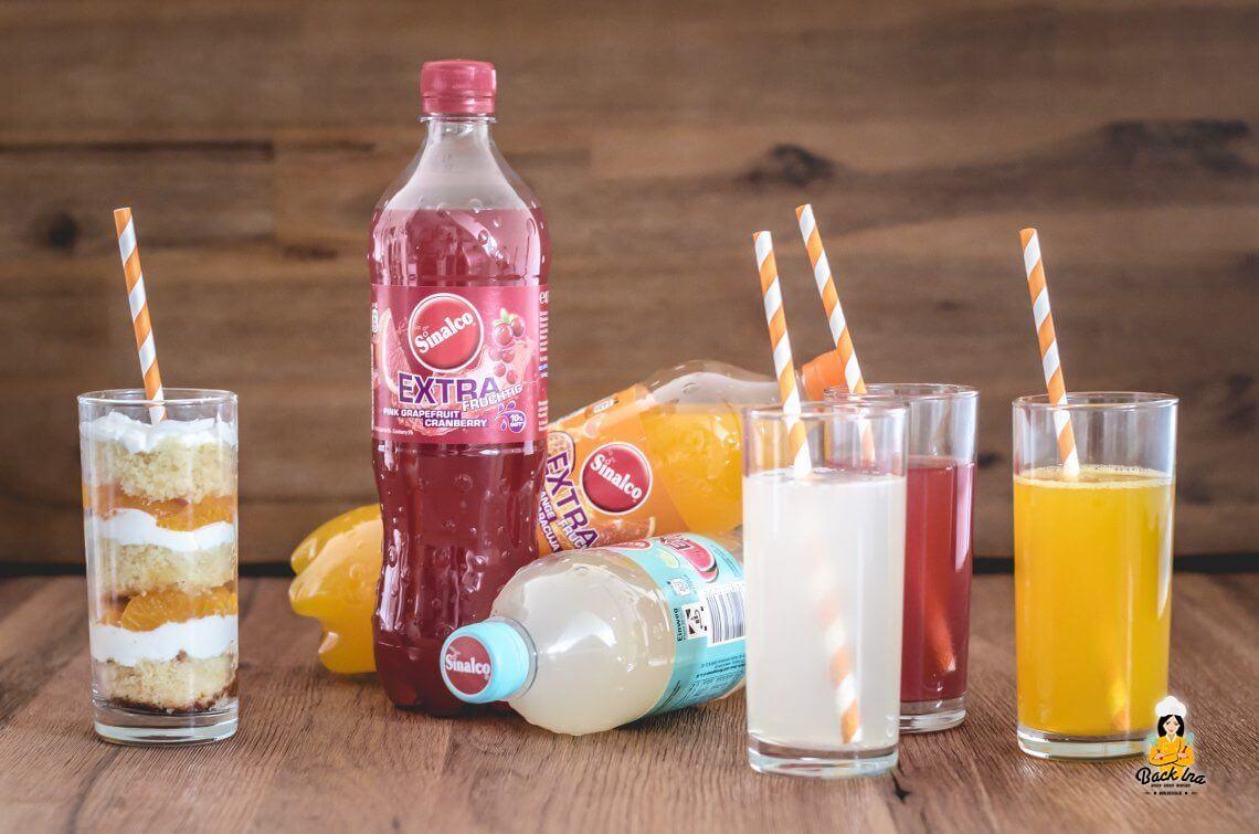 Anzeige: Limokuchen im Glas mit Sinalco EXTRA fruchtig