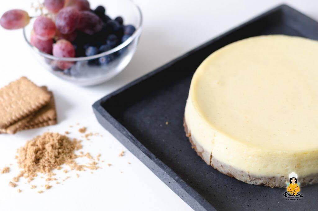 American Cheesecake mit deutschen Zutaten