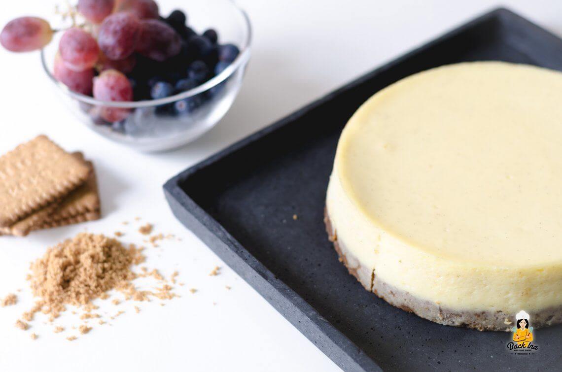 Cremig zum Quadrat (American Cheesecake)