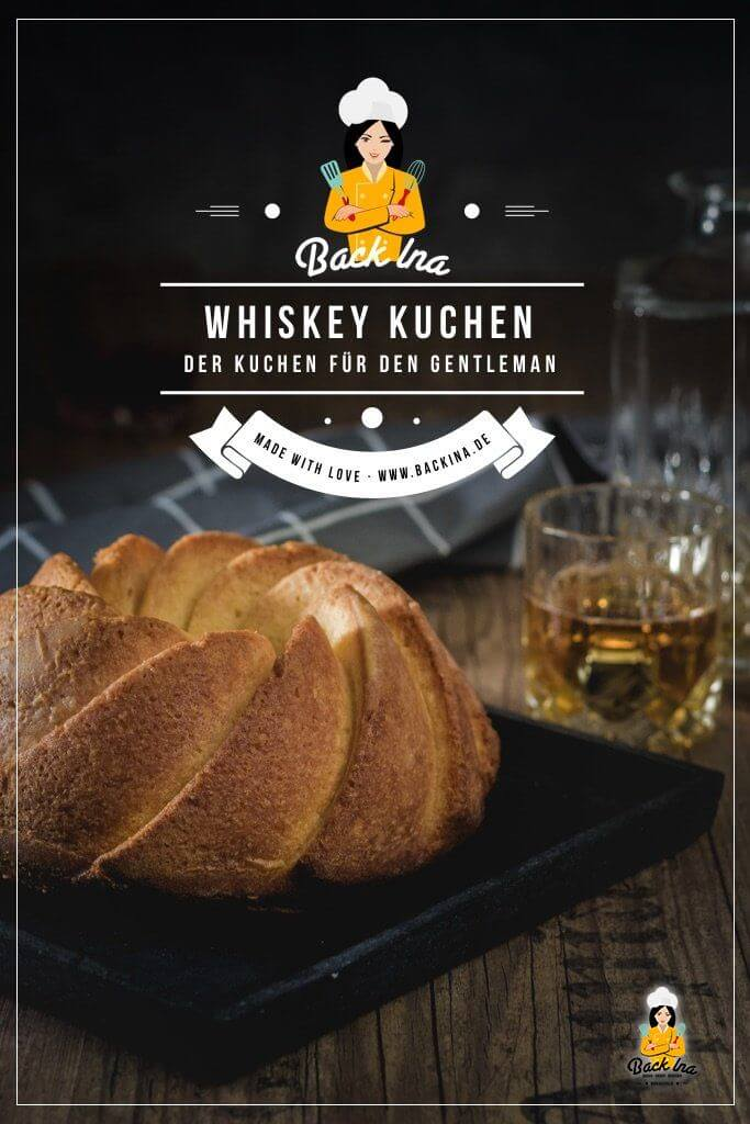 Du magst Eierlikörkuchen und du magst Whiskey? Dann ist dieser einfache Rührkuchen mit Whiskey genau richtig für dich! Der Whiskey Kuchen hat ein feines Aroma und ist ein sehr saftiger Gugelhupf. Durch Tränken kommt der Whiskey Geschmack noch besser im Kuchen raus - idealer Kuchen für Whiskey-Liebhaber. | BackIna.de