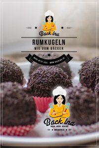 Du möchtest Rumkugeln wie vom Bäcker selber machen? Mit Kuchenresten, einer Menge Rum und wenigen anderen Zutaten ist das ganz leicht möglich! Probier doch auch mal diese super leckeren, großen Rumkugeln aus! | BackIna.de