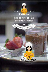 Du möchtest Schokopudding selber machen? Suchst du ein Rezept für Schokopudding ohne Ei? Dann habe ich hier ein ganz einfaches Rezept für dich - gelingt immer und schmeckt so schokoladig! | BackIna.de