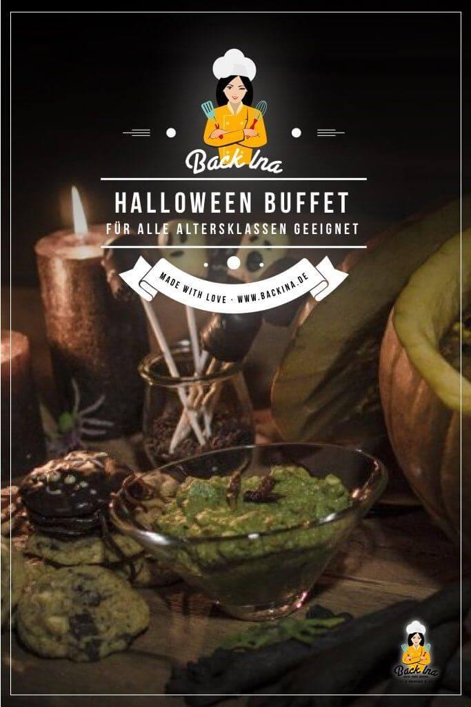 Suchst du Ideen für ein Halloween Buffet, das Gäste aller Altersklassen begeistert? Meine Ideen für Halloween sind für Kinder und Erwachsene geeignet und dabei nicht ganz so gruselig. Ideal für eine Halloween Party mit der ganzen Familie! | BackIna.de