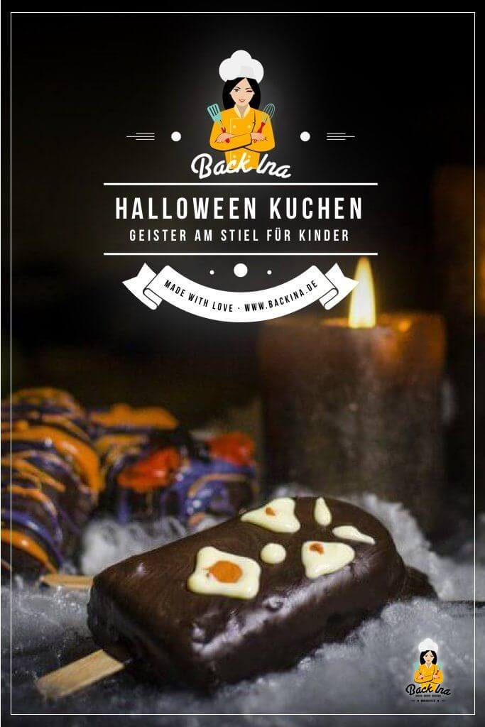 Du möchtest Kuchen für Halloween backen? Wie wäre es mit diesen Monstern am Stiel? Die kleinen gruseligen Kuchen sind perfekt für Kinder, da sie sich gut in der Hand halten lassen. Eine außergewöhnliche Süßigkeit für Halloween! | BackIna.de