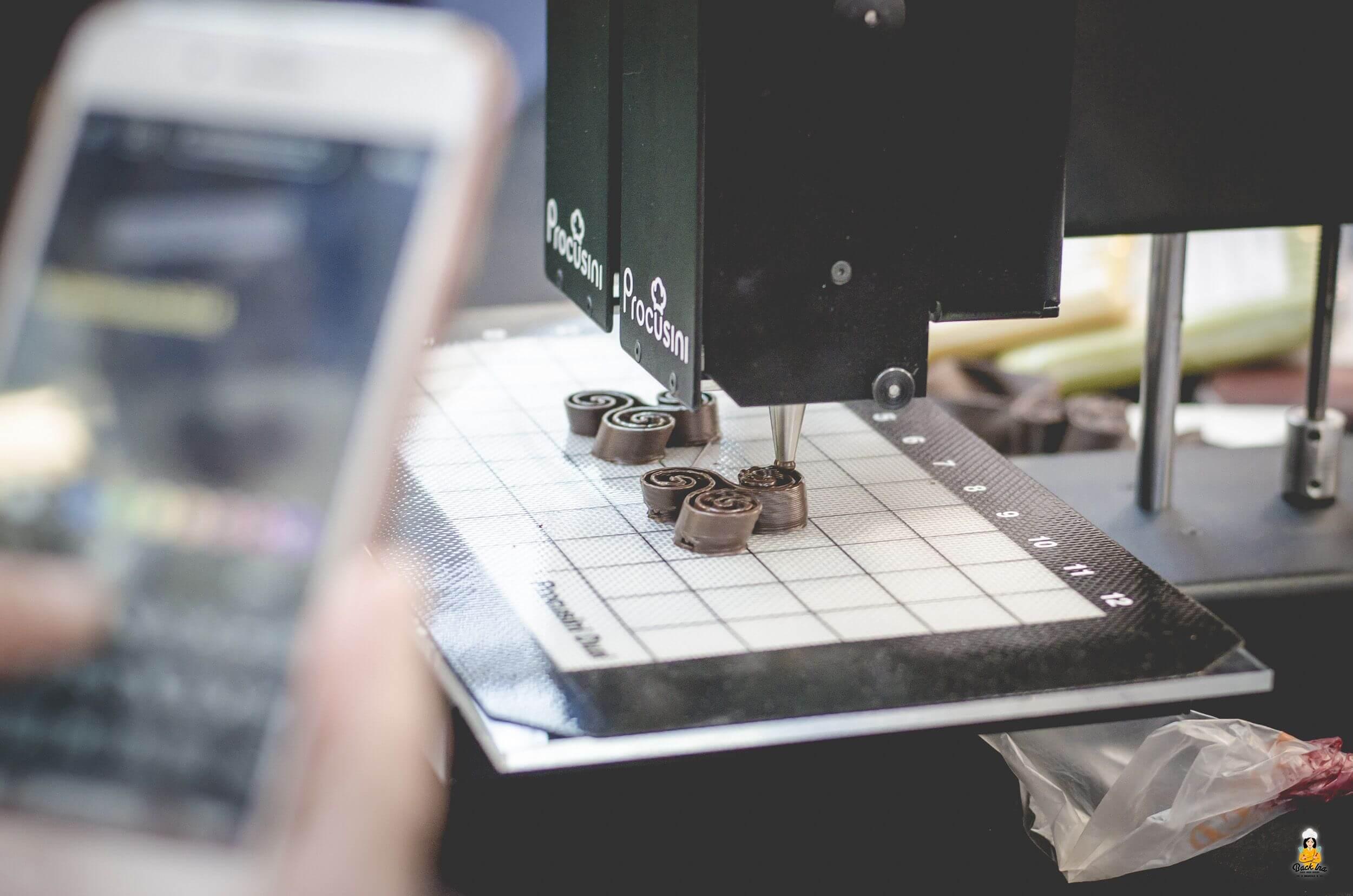 3D-Druck Schokolade