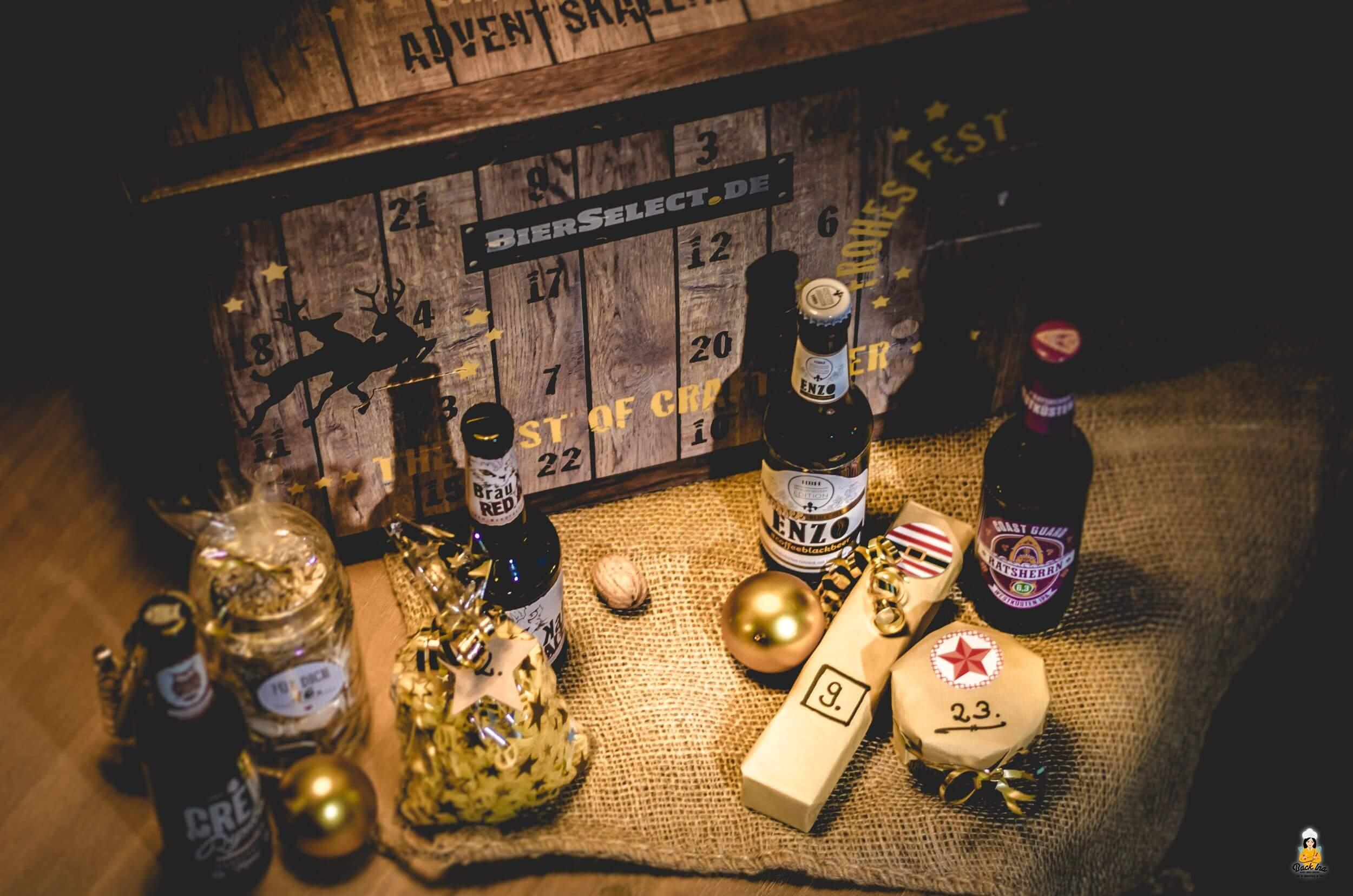 BierSelect Adventskalender mit Bier - Ideen zum Bierpairing