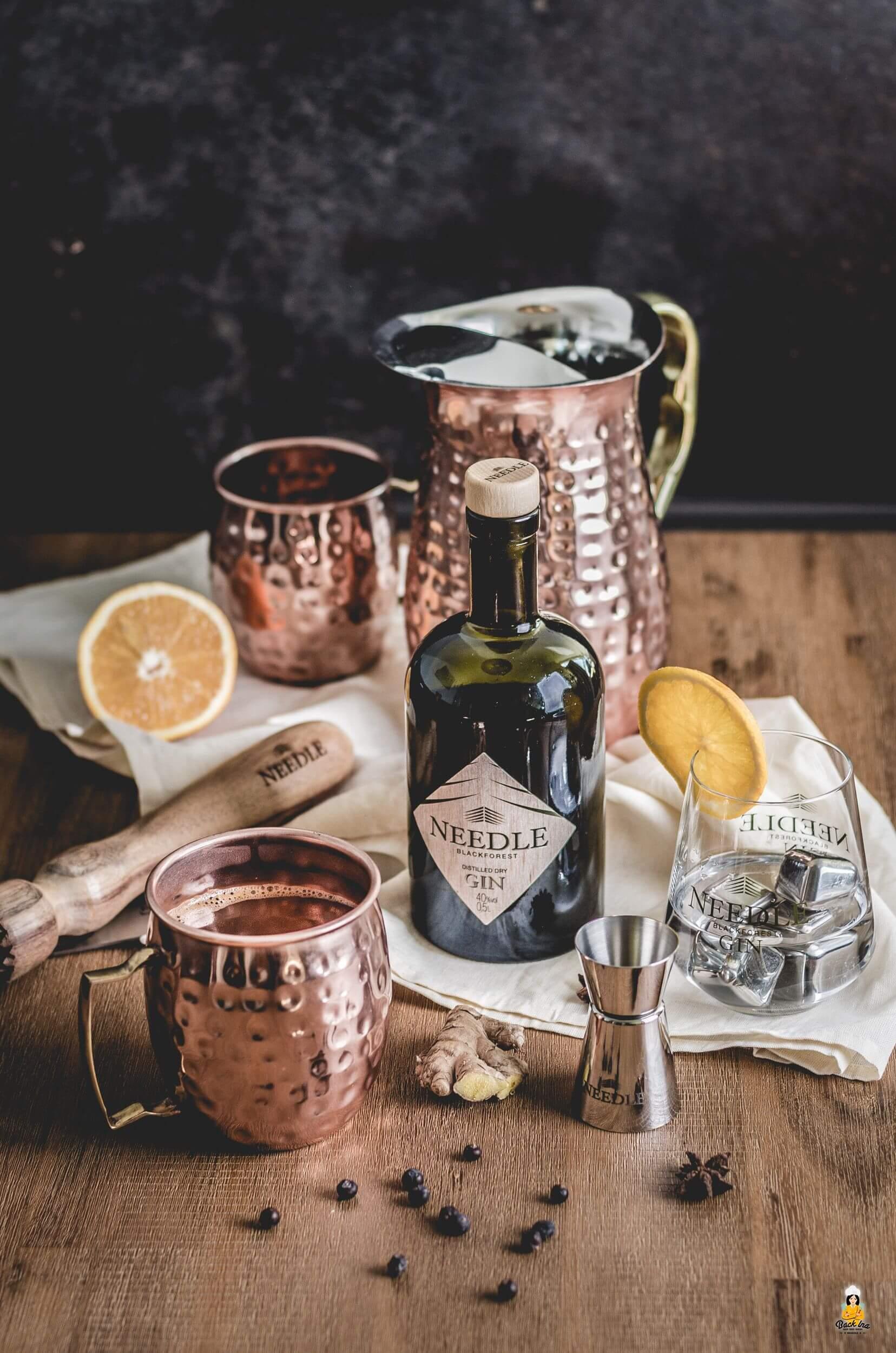 Glüh-Gin: Glühwein mit Gin