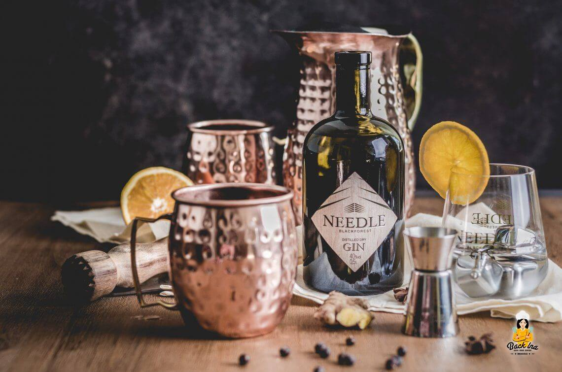 Fruchtiger Glüh-Gin mit Needle Gin + Verlosung