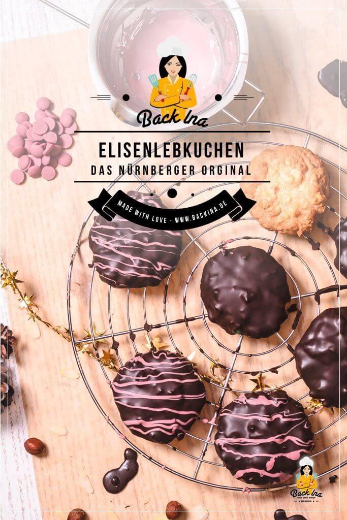 Du möchtest klassische Elisenlebkuchen backen? Ich habe ein Original Nürnberger Elisenlebkuchen Rezept aus einer Bäckerei für dich: Die saftigsten Lebkuchen, die du je gebacken hast - und dabei noch einfach zu machen! | BackIna.de