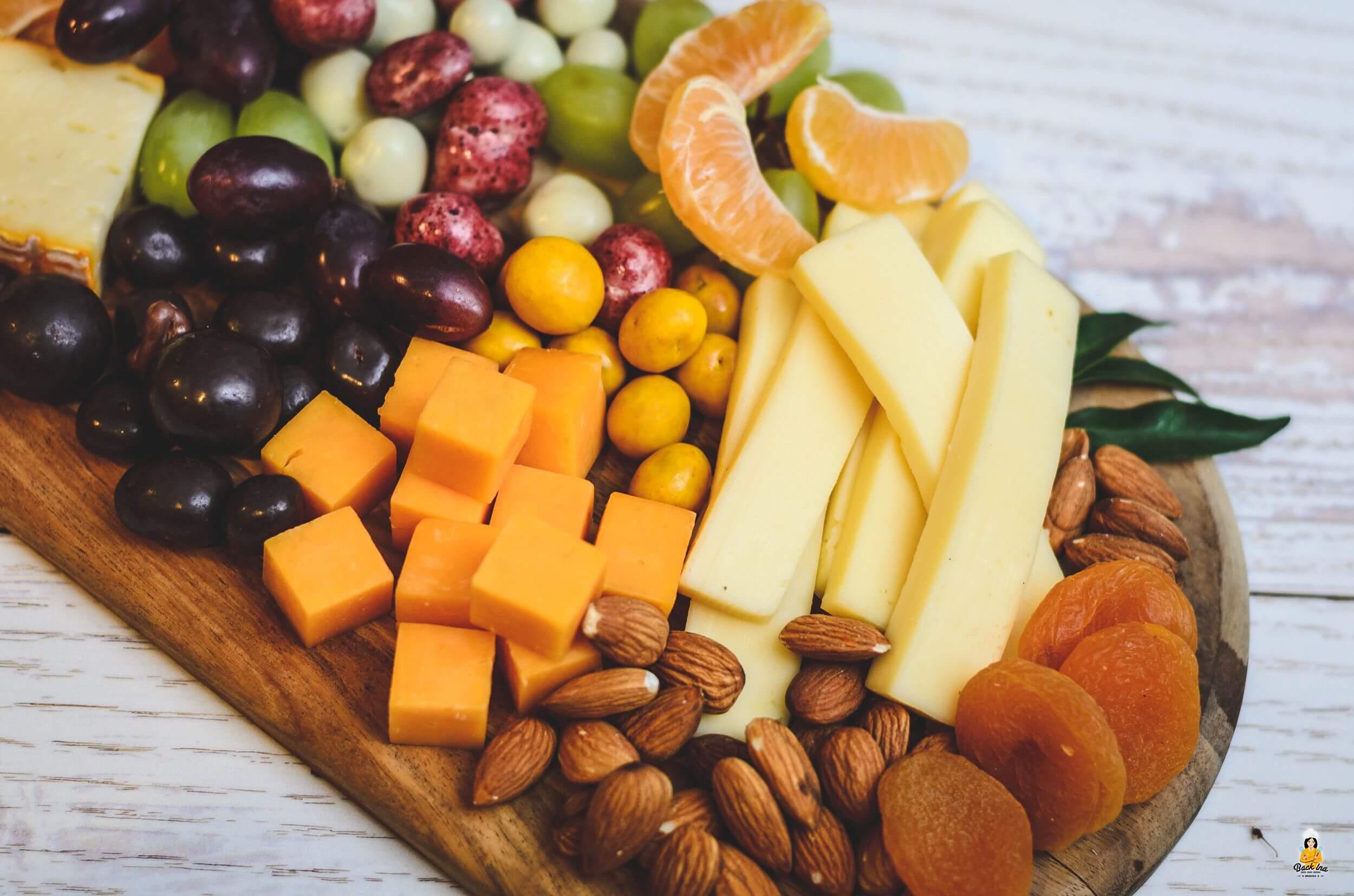 Käseplatte als Snack auf Partys selber machen