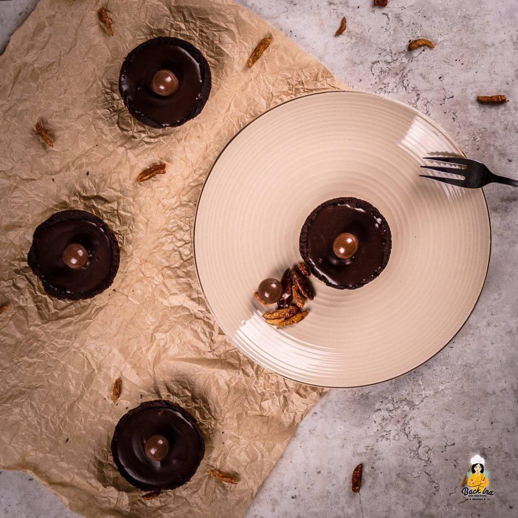 Schoko Chili Tartelettes - ein besonderes Schoko Dessert mit Chili