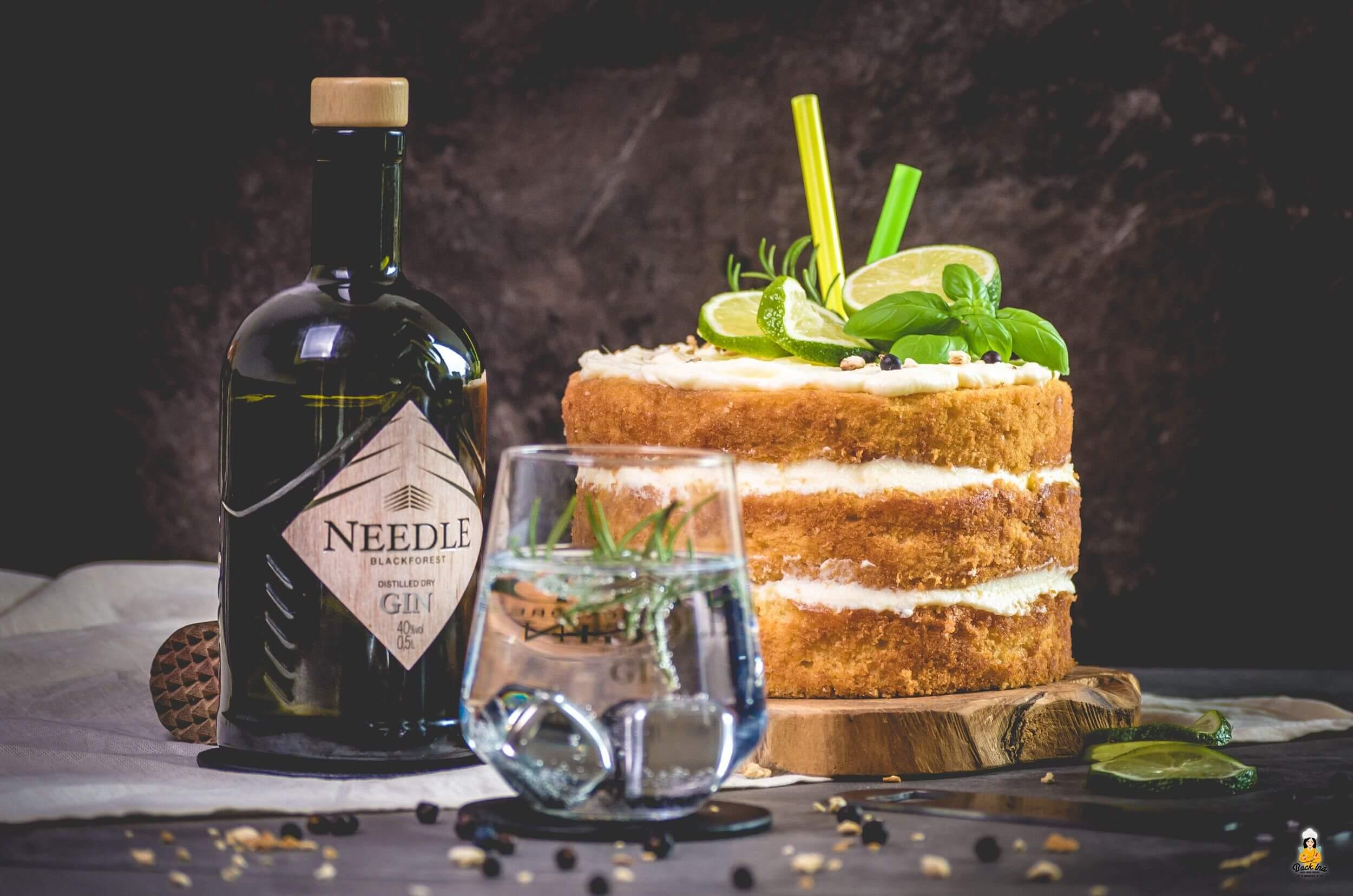 Gin Tonic Torte - die besondere Geburtstagstorte