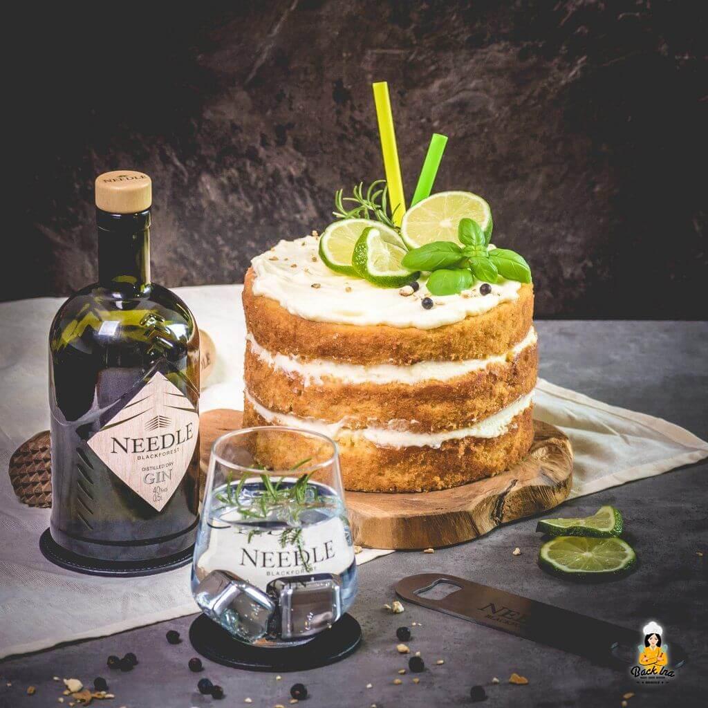 Gin Tonic Torte - die Geburtstagstorte für Gin LIebhaber!
