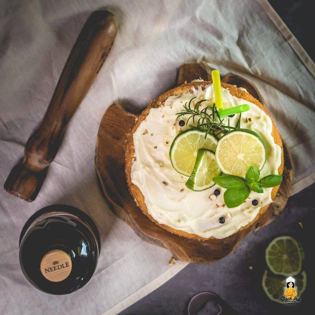 Geburtstagstorte für Männer: Gin Tonic Torte selber machen
