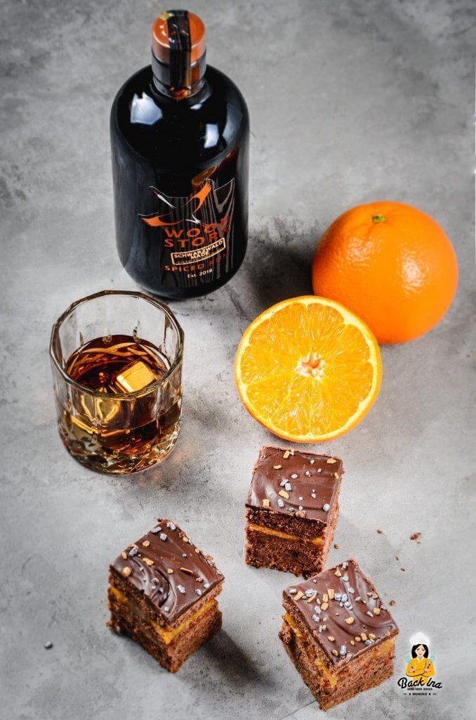 Schokotorte mit Rum - das ist die Herrentorte. Mein nicht zu süßes Rezept für diese besondere Torte zeige ich dir hier
