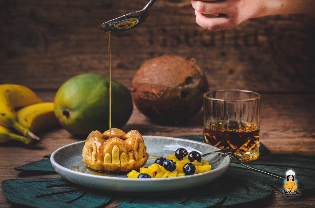Karibischer Rumkuchen
