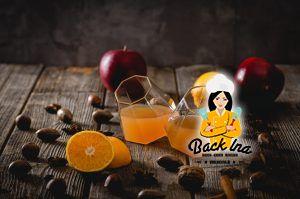 Apfelpunsch mit Cidre und Orange selbst machen - tolle Idee für den Winter