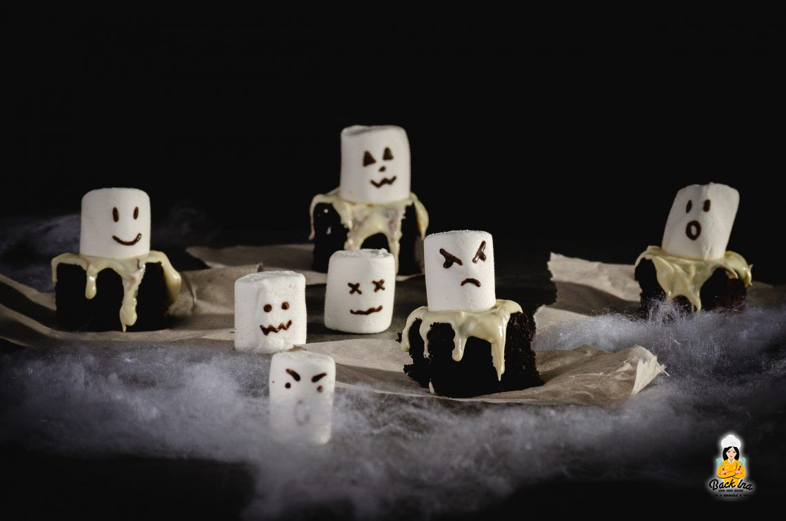 Spooky… (Geister Brownies)