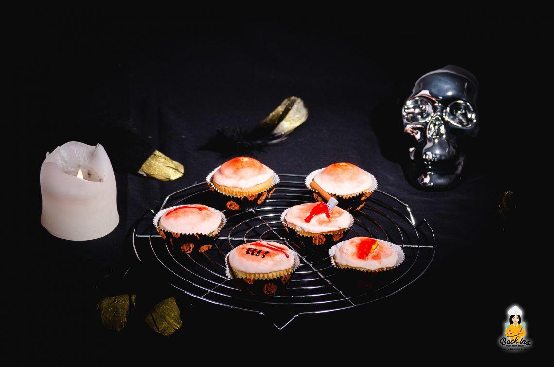 Pickel, Wunden und Narben… (Halloween Cupcakes)