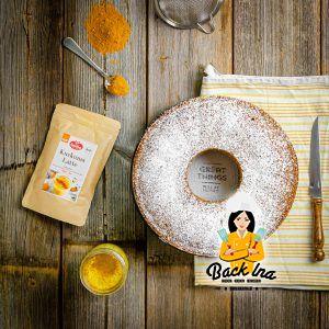 Veganer Goldene Milch Kuchen