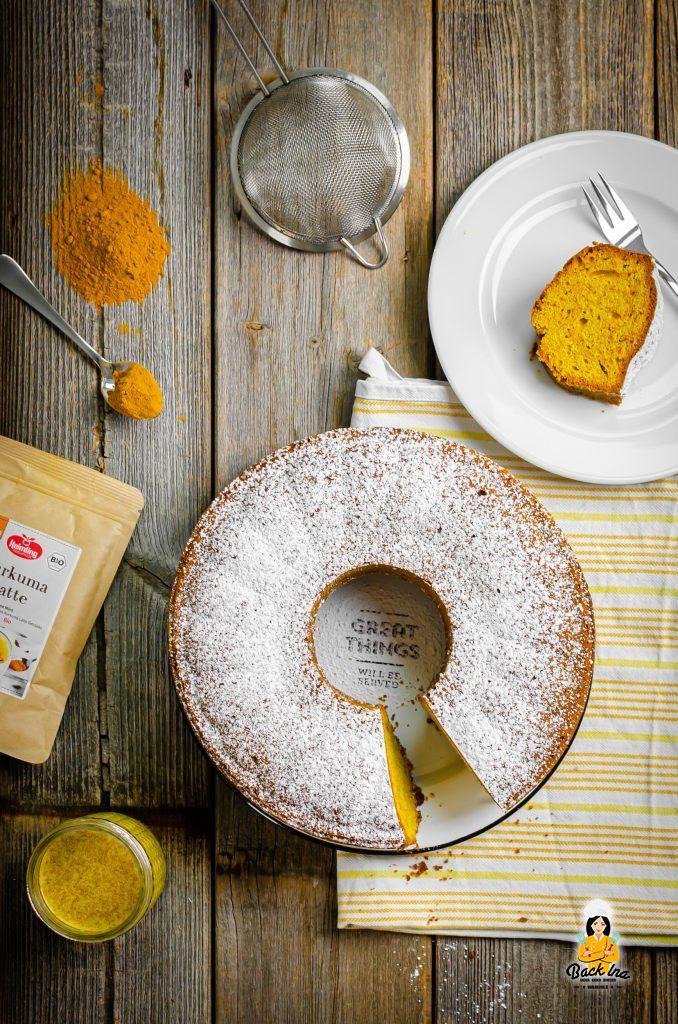 Kurkuma Latte Rührkuchen: Einfaches und veganes Rezept für den Herbst