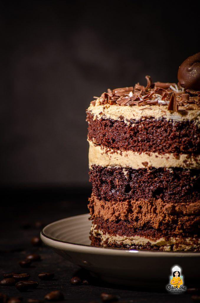 Schoko-Kaffee-Torte: Die ideale Geburtstagstorte für Kaffee-Junkies!