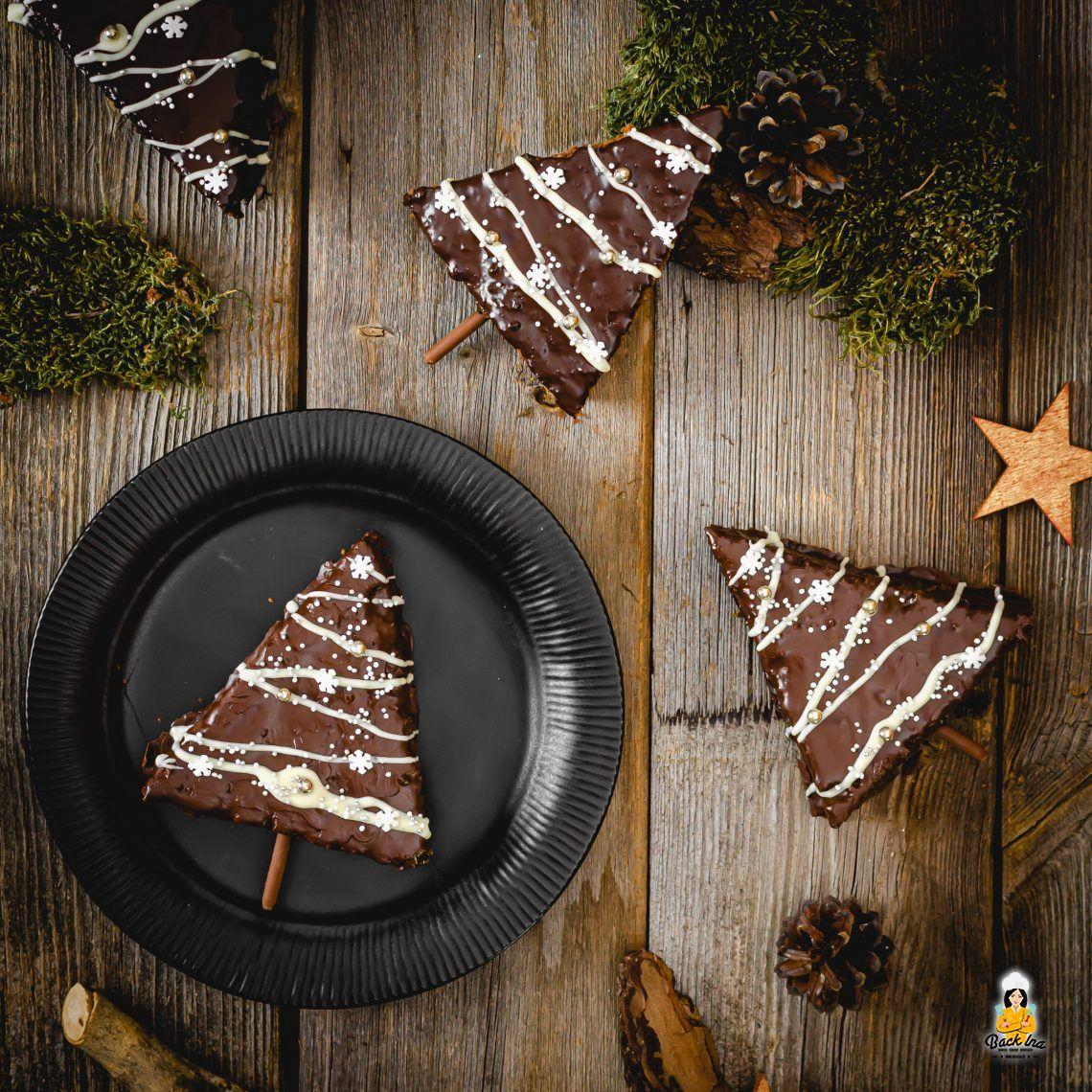 Weihnachts-Endspurt (Gewürzkuchen-Tannenbäume)