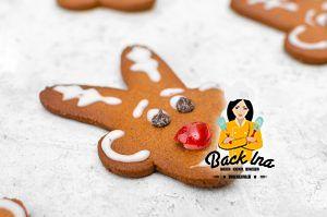 Honigkuchen Lebkuchen a la Rudolph das Rentier