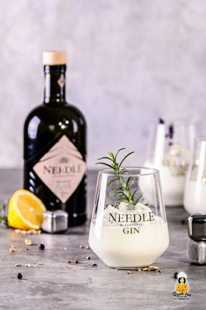 Dessert im Glas mit Gin: Party Hit Gin Mousse mit Gin Gelee