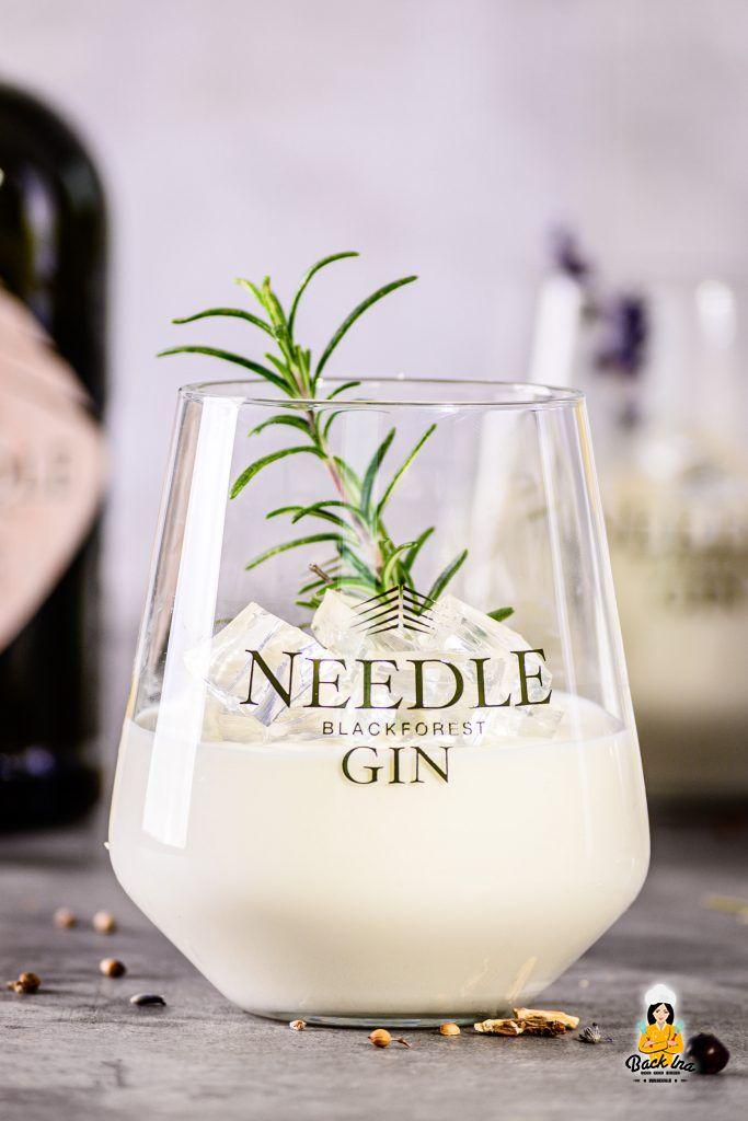 Gin Zitronen Mousse mit Gin Tonic Gelee: Dessert im Glas für Partys