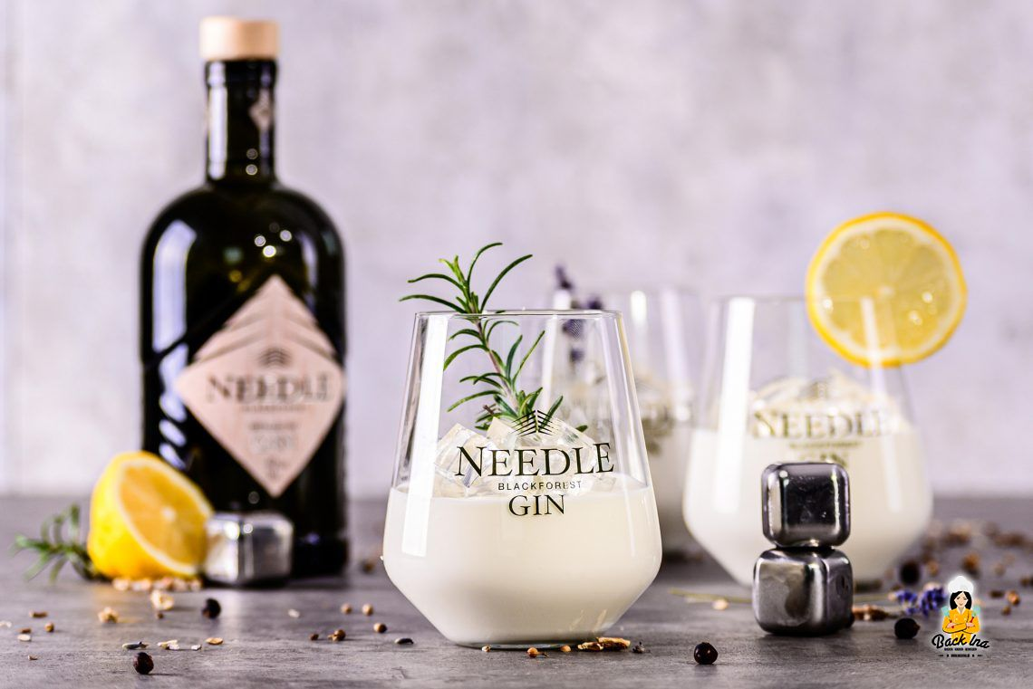 Cheers! Gin Tonic Dessert im Glas mit Needle Gin
