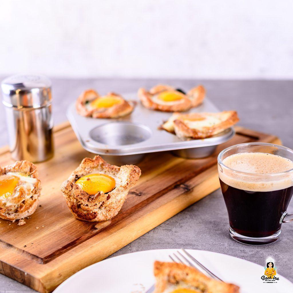 Ei-Spinat-Muffins zum Brunch