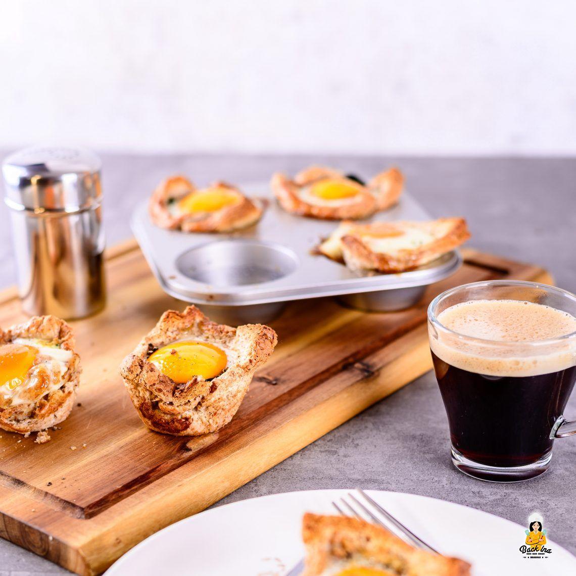 Ei-nzigartiges Frühstück (Ei-Muffins zum Brunch)