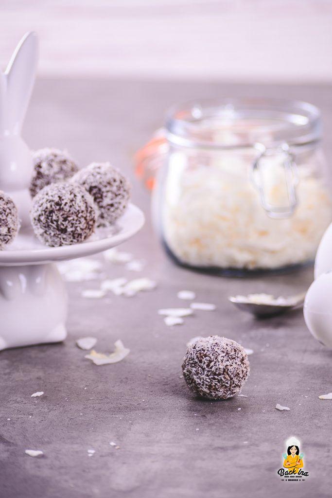 Schoko-Kokos-Pralinen: Einfaches Rezept für selbstgemachte Pralinen