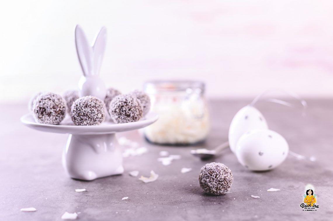 Food in Motion 3/20: Kokos-Schoko-Pralinen