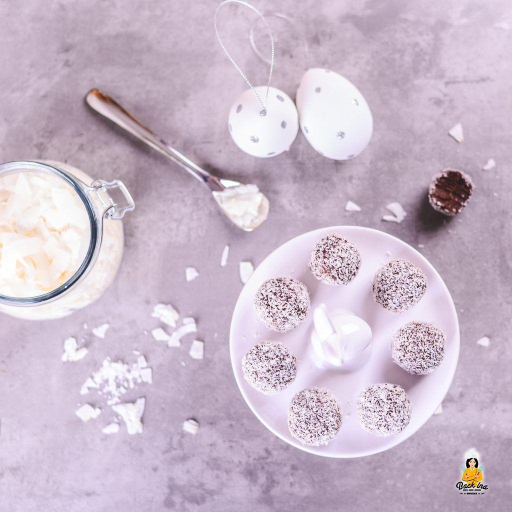 Pralinen mit Kokos selber machen - schnell und einfach
