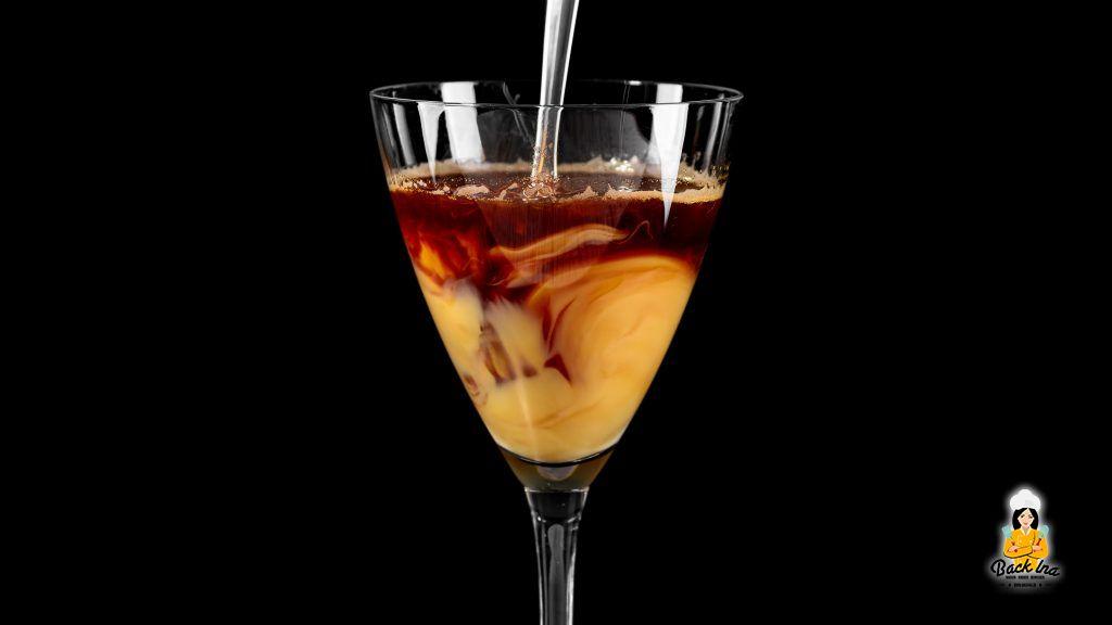 Eierlikör-Kaffee-Cocktail: Verstrudelte Kaffeespezialität