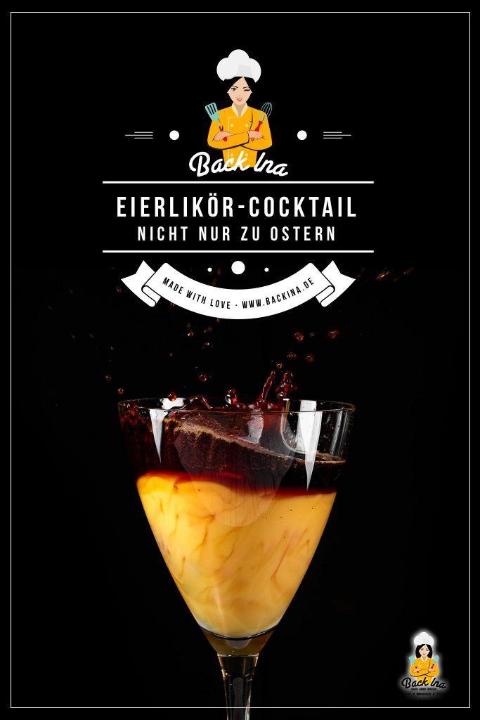 Der Cocktail mit Eierlikör und Kaffee schmeckt nicht nur zu Ostern. Die Kaffeespezialität mit Eierlikör ist lecker für alle, die Kaffee süß und hochprozentig mögen. Probier es aus! | BackIna.de