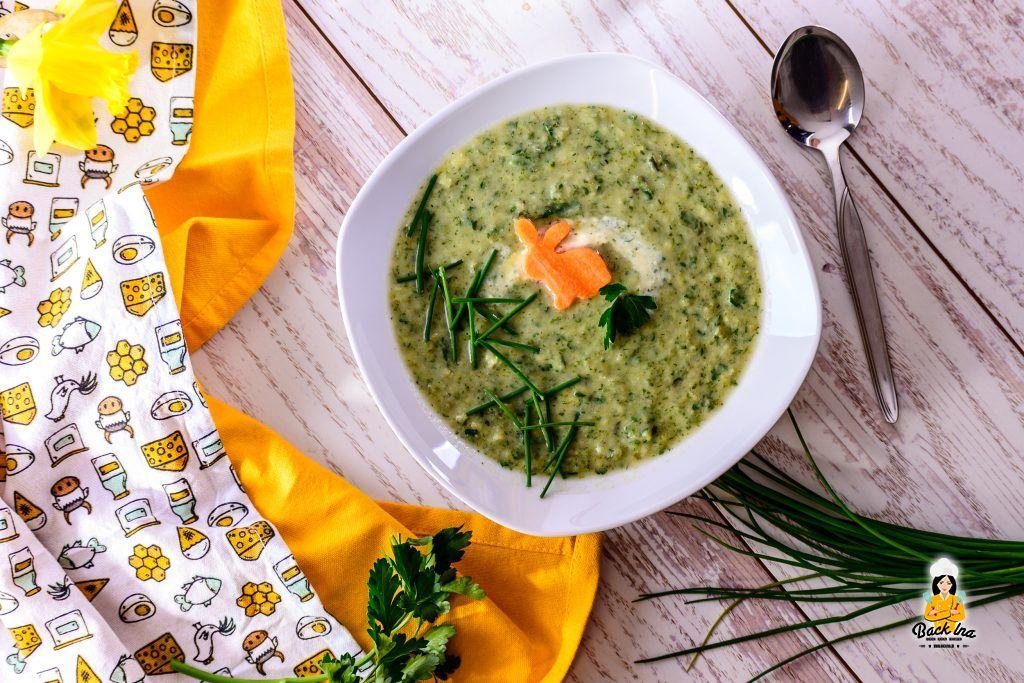 Kartoffel-Kräuter-Suppe zu Ostern